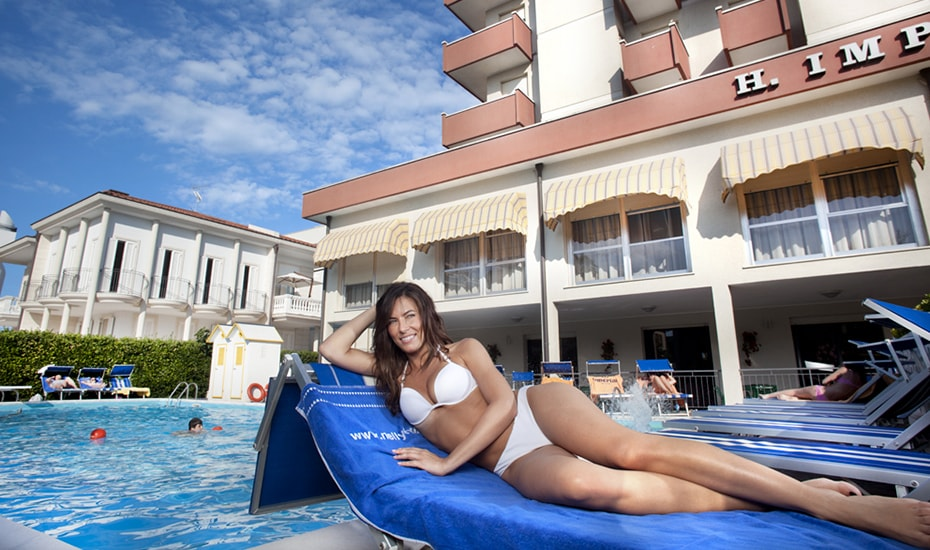 Piscina | Hotel Imperiale